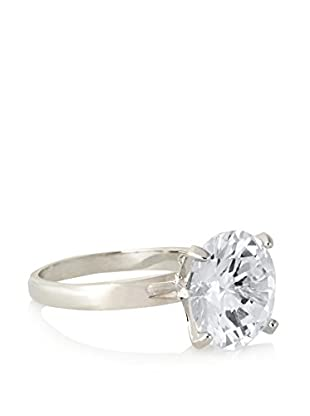 CZ by Kenneth Jay Lane Round CZ Classic Ring