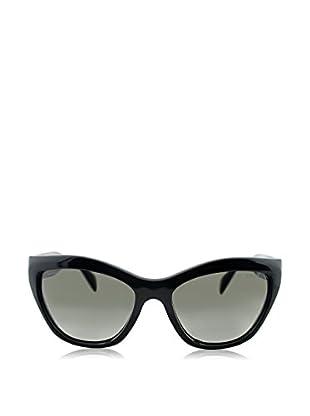 Prada Gafas de Sol 02QS (56 mm) Negro Talla Única (talla Del Fabricante: One Size)