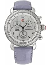 Michele Csx 36 Diamond Steel Periwinkle Ladies Watch Mww03C000101