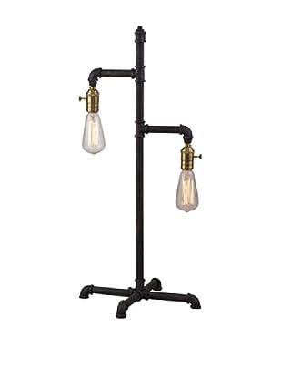 Bassett Mirror Co. Telestar Table Lamp, Rustic