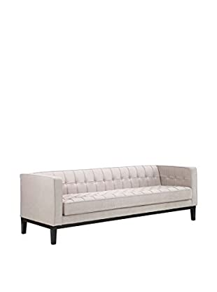 Armen Living Roxbury Sofa, Cream
