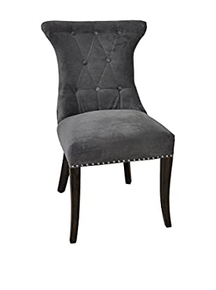 Tottenham Court Reaghan Side Chair, Grey