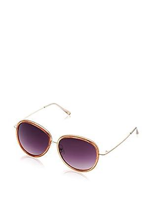 LANCASTER Gafas de Sol Carroll (57 mm) Dorado / Naranja Claro