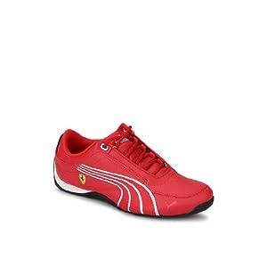 Drift Cat 4 L Ferrari Jr Red Sneakers