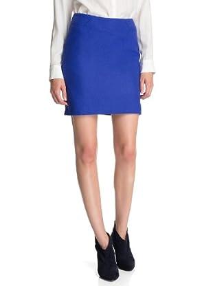 ESPRIT Collection Falda Román (Azul)