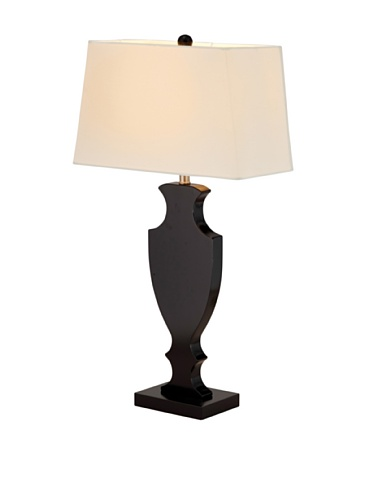 Adesso Victoria Table Lamp, Black