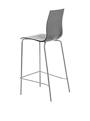 Domitalia Tall Gel Chair, Transparent Smoke