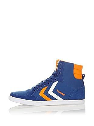Hummel Sneaker Slimmer Stadil High (dunkelblau)