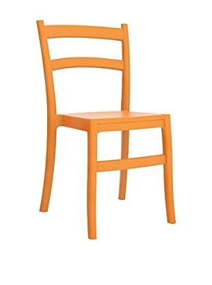 Officine Fiam Stuhl 2er Set Tiffany orange