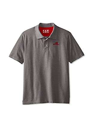 New Balance Men's Lightning Dry Pique Polo Shirt (Heather Grey)
