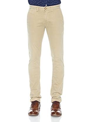 Pepe Jeans London Pantalón Sloane (Marrón Claro)