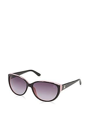 Tous Sonnenbrille 794T-5706Bs (57 mm) schwarz/rosa