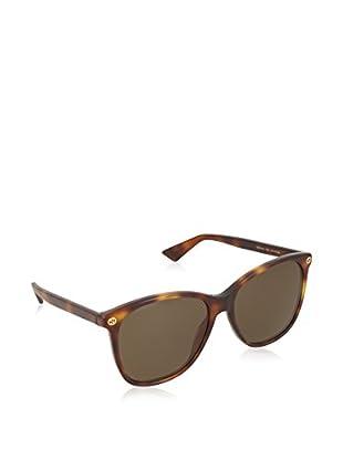 Gucci Sonnenbrille 0024S_002 (58 mm) havanna