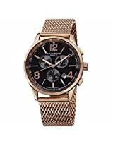Akribos Xxiv Rose Gold-Tone Stainless Steel Mens Watch Ak719Rg