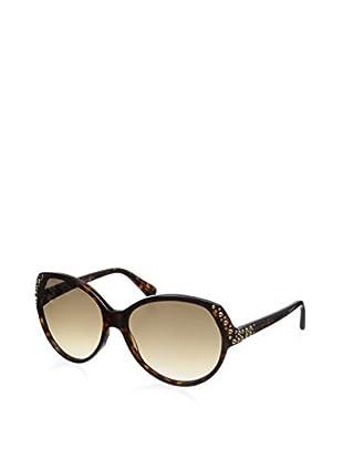 Alexander McQueen Women's 4216 Sunglasses, Havana