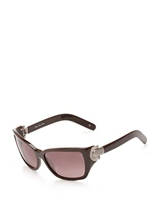 Chloé Women's Heloise Rectangular Sunglasses (Dark Wine)