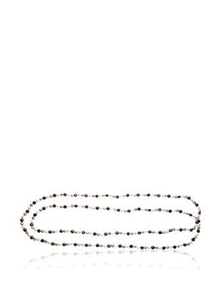Compagnie générale des perles Collana Sautoir argento 925