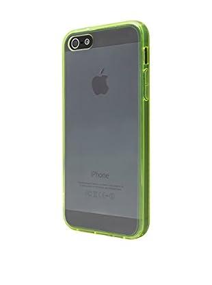 NUEBOO Hülle Fluor-Side iPhone 5/5S/Se grün