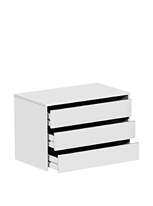 13 Casa Schubladenschrank Sissi A4 weiß