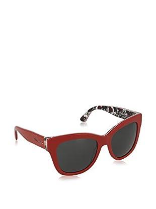 DOLCE & GABBANA Gafas de Sol 4270 302087 (55 mm) Rojo