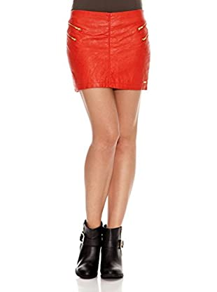 Pepe Jeans London Falda Candyeye (Rojo Oscuro)