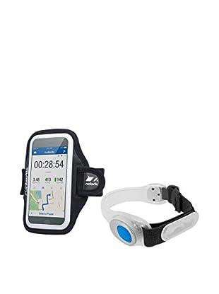 Runtastic Funda de Brazo para iPhone: 4/4S/5/5S/5C/6 y Samsung Galaxy S3/S4/S5 + Luz de Seguridad RN0814