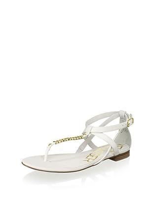 Kelsi Dagger Women's Kimmy Metal Sandal (White)