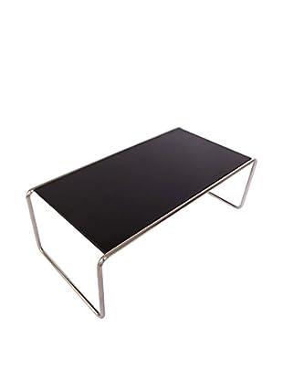 LeisureMod Malvern Side/Coffee Long Table, Black