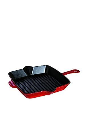 Staub American Square Grill Pan (Cherry)