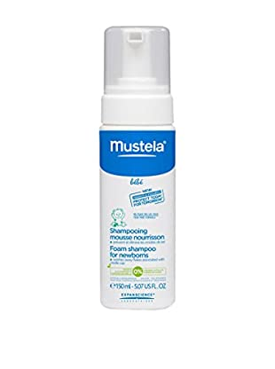 Mustela Haarshampoo 3er Set Mousse 450 ml, Preis/100 ml: 4.22 EUR