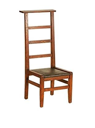 French Prayer Chair II, Brown