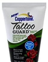 Coppertone SPF#50 Tattoo Guard Lotion 2 oz. Tube