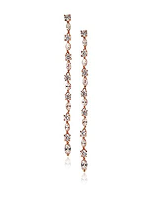CZ by Kenneth Jay Lane Linear Multi CZ Drop Earrings