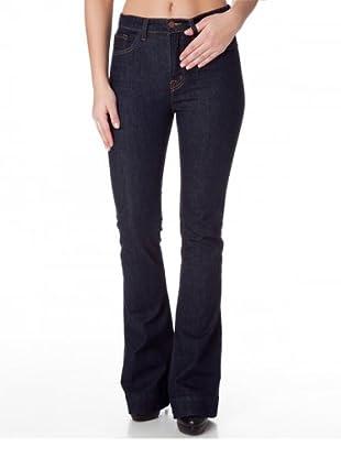 J Brand Jeans Bianca High Rise Wide Leg Pure (Dunkelblau)