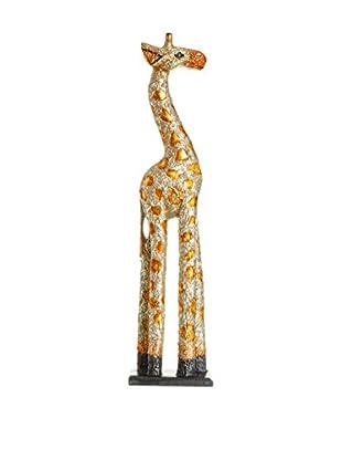 Concept Luxury Dekoartikel Giraffe goldfarben