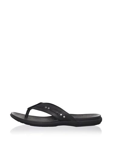 John Varvatos Star USA Men's Togabo Stud Sandal (Black)