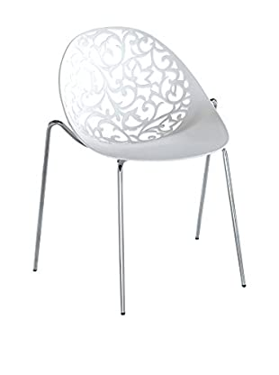 Contemporary Living Special Chairs & Co. Stuhl 4er Set weiß