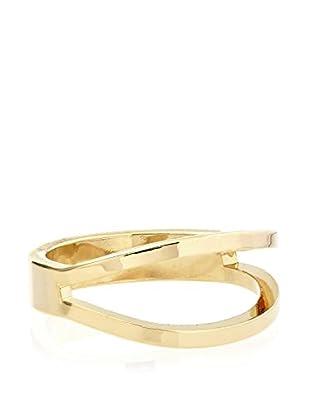 Ecru Metal Split Ring