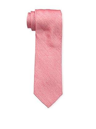 Bruno Piattelli Men's Unsolid Silk Tie, Red