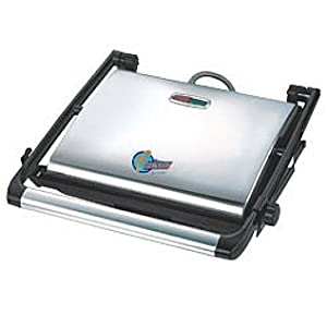 Saleshop365 Heavy Duty Grill Electric Sandwich Maker- Home And Professional Use