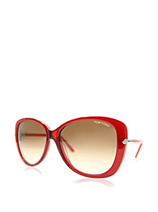 Tom Ford Gafas de Sol FT-LINDA 0324S-68F (59 mm) Rojo