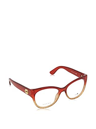 Gucci Gestell 3824RQA53 (53 mm) rot/beige