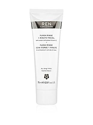 REN Skincare Gesichtsreiniger Flash Rinse 1 minute 75 ml, Preis/100 ml: 30.6 EUR