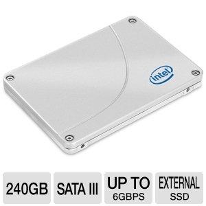 Intel SSD 520 Series(Cherryville) 240GB 2.5inch Reseller BOX SSDSC2CW240A3K5
