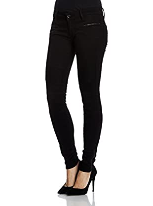 Seven7 Skinny Jeans Biker Rinse Bl