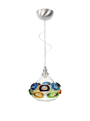 Viz Art Glass Ambrosia Single Pendant (Cool Multi)