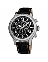 Akribos Ultimate Chronograph Stainless Steel Mens Watch Ak575Bk
