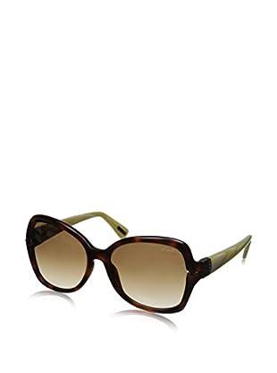 Lanvin Women's Sunglasses, Dark Havana/Ivory