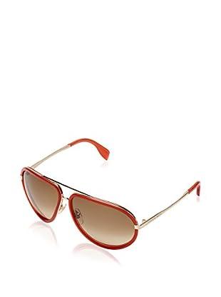 Alexander McQueen Gafas de Sol AMQ4198/S (63 mm) Teja