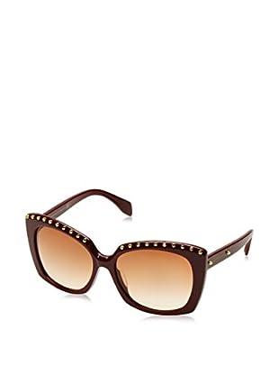 Alexander McQueen Gafas de Sol AMQ4262/F/S (58 mm) Burdeos